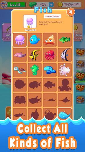 Code Triche Fantastic Fishing APK MOD (Astuce) screenshots 5
