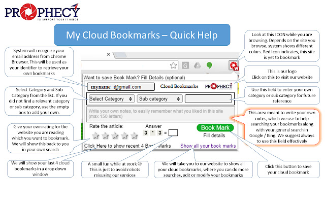 My Cloud Bookmarks