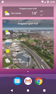 Kingston-upon-Hull, East Riding - Weather - náhled