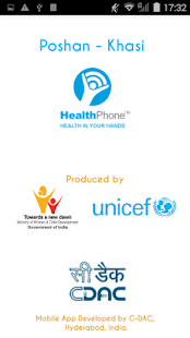 Poshan Khasi HealthPhone- screenshot thumbnail