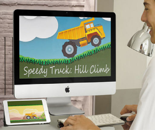 Speedy Truck: Hill Climb Race