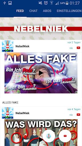 NebelNiek Zuschauer App