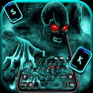 Zombie Skull Keyboard 1.0 by New 2020 Themes for Emoji keyboard logo