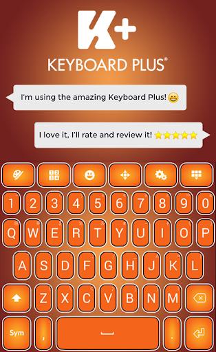 Pumpkin Keyboard Theme