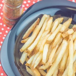 Crispy Homemade French Fries.