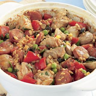 Chicken Pilaf Spanish-Style