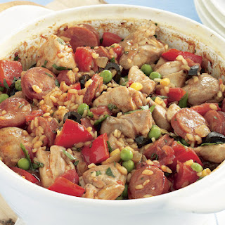 Chicken Pilaf Spanish-Style.