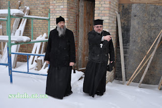 Photo: 2012 р. 14.01 св. Василія та відвідини владики Венедикта