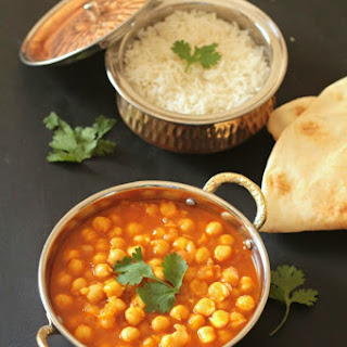 30 Minute Chickpea Curry.