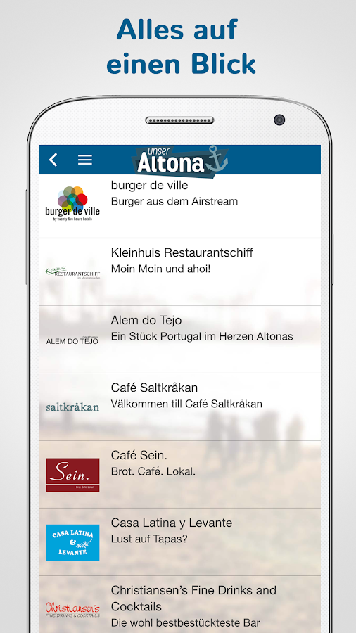 Unser Altona – Screenshot