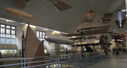 Photo: Deutsches Museum exhibits: airplanes