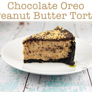 Chocolate Oreo Peanut Butter Torte