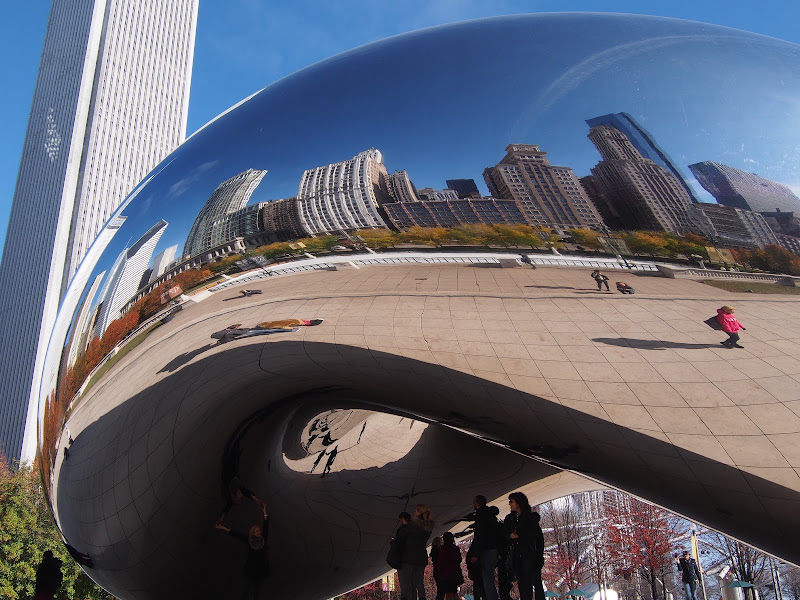Chicago bean  reflections. di gterzolo