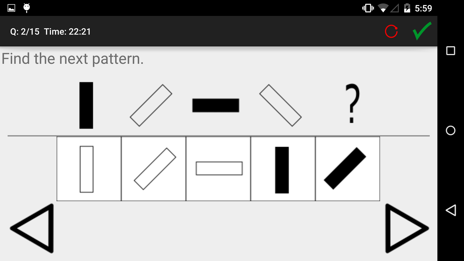 iq and aptitude test practice android apps on google play iq and aptitude test practice screenshot