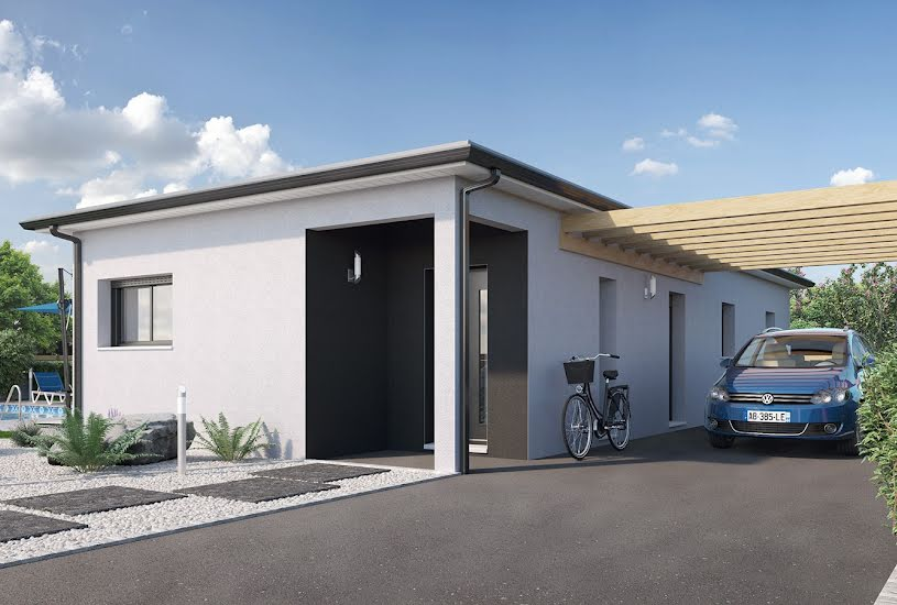 Vente Terrain + Maison - Terrain : 565m² - Maison : 122m² à Nivillac (56130)