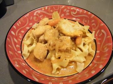 Chicken Paprikash With Dumplings Recipe