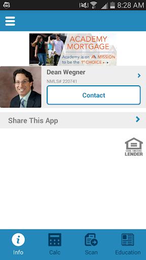 Dean Wegner at AcademyMortgage