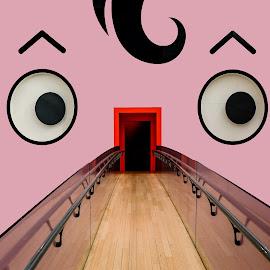 face - Triennale - Milan by Luigi Alloni - Digital Art Places ( face triennale milan woman perspective art eyes door luigialloni )
