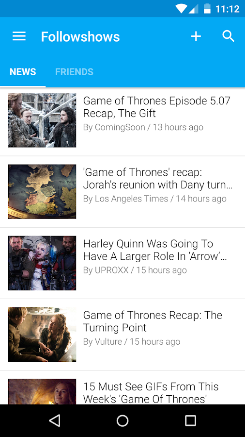 Followshows, TV Shows Guide- screenshot