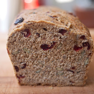 Seed and Berry Honey Whole Wheat Bread.