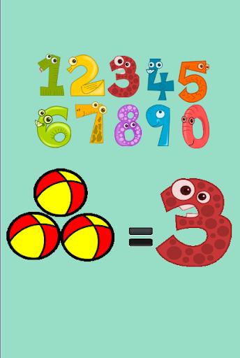 数学游戏的孩子
