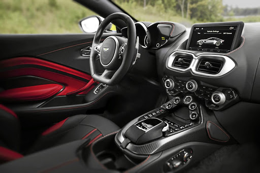 The interior has a few Mercedes-AMG touches but is definitely a sportier-looking place to be