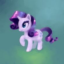 Photo: Fun fact: I actually started typing 'ponies' into the circle share box. Okay, it wasn't that fun, but it was a fact. The point is, apparently the 8 year old girl inside me* wanted to paint ponies before bed last night. Bad 8 year old girl, GO TO YOUR ROOM. She can come out when the balance has been restored, perhaps with some giant robots or monsters, or something.   *metaphorically speaking (I hope)