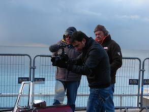 Photo: L'équipe de www.1prod.fr, qui a tourné un reportage durant toute la randonnée.