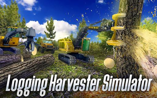 Logging Harvester Truck 1.4 screenshots 1
