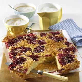 Buttery Cherry and Almond Cake.