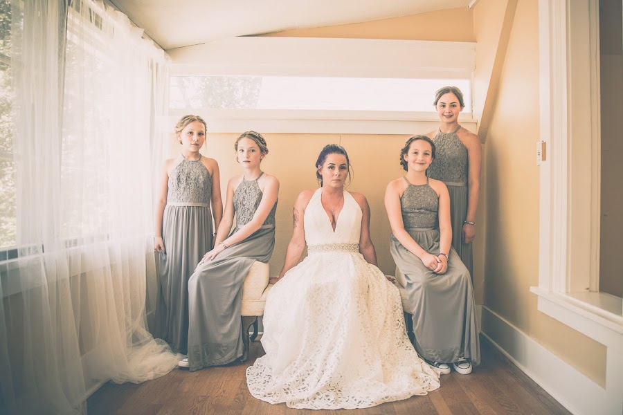 The Ladies by Ivan Johnson - Wedding Bride