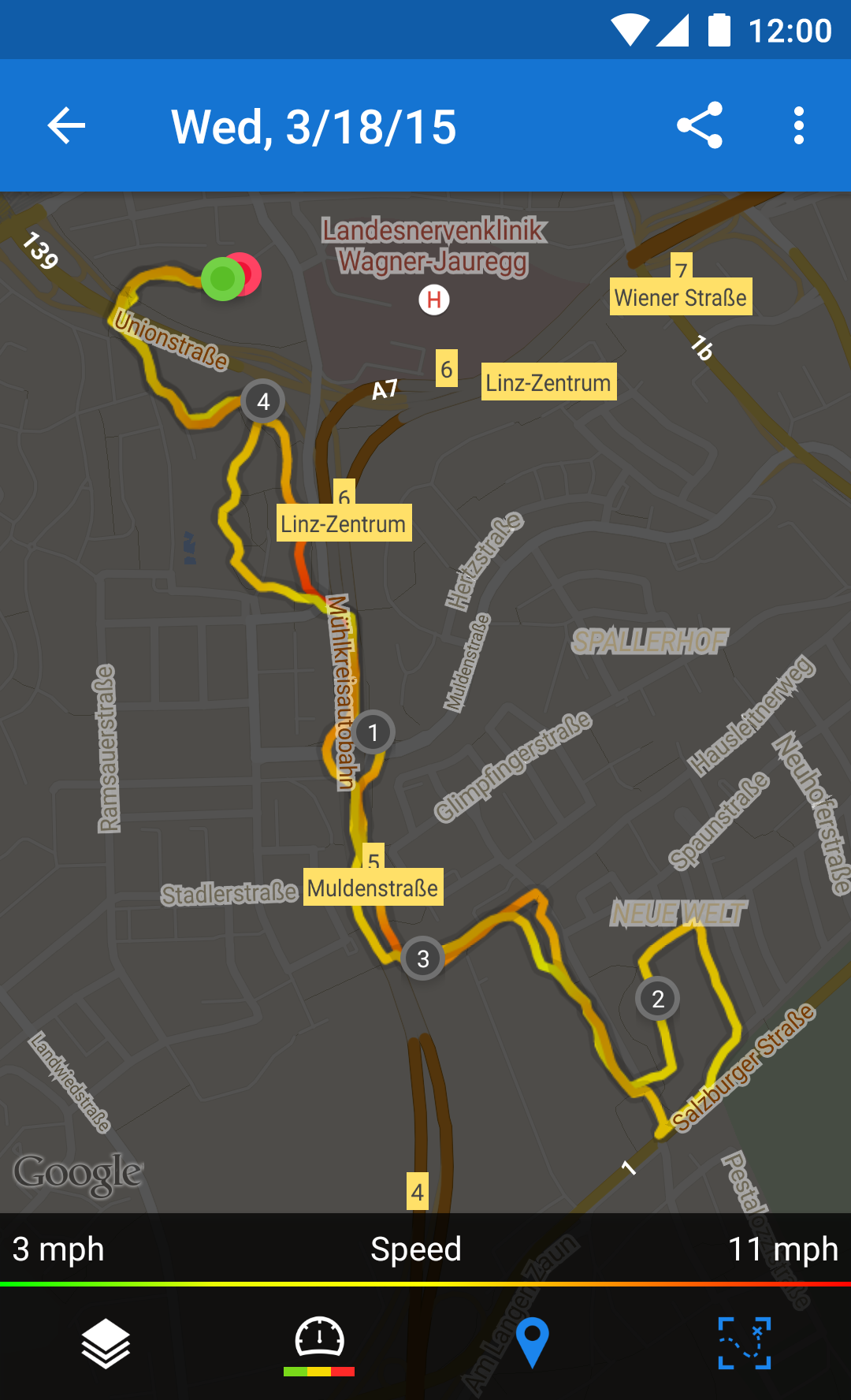 Runtastic Running & Fitness screenshot #8