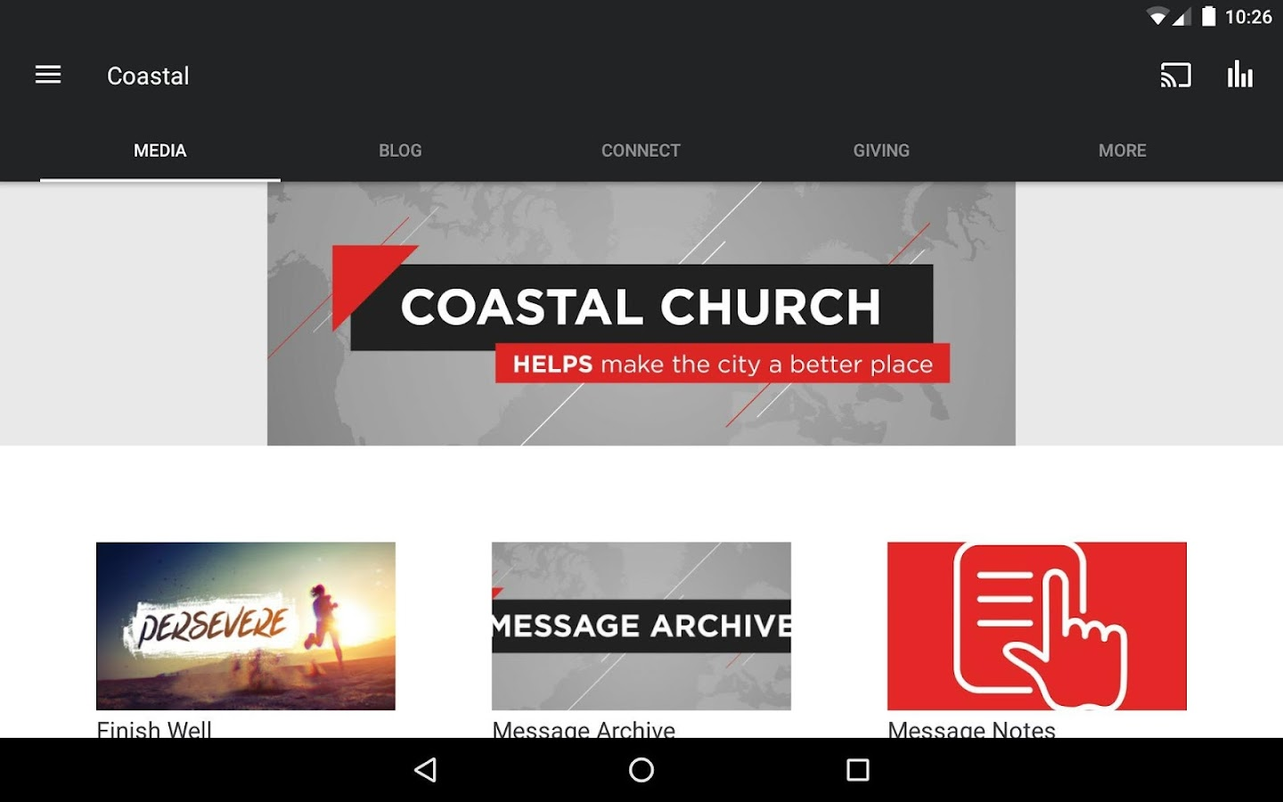 Coastal Church- screenshot