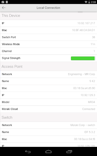 Meraki screenshot 23