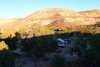 Photo: Hidden camp spot near BIR '08 group camp in Butler Wash