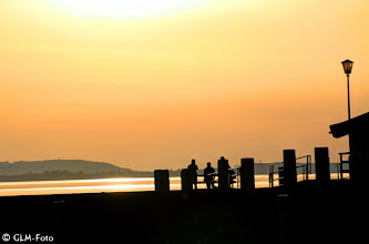 Photo: Sonnenuntergang in Chieming am Chiemsee