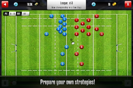 Rugby Manager- screenshot thumbnail