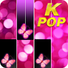 Pink Piano Music Tiles: KPOP icon
