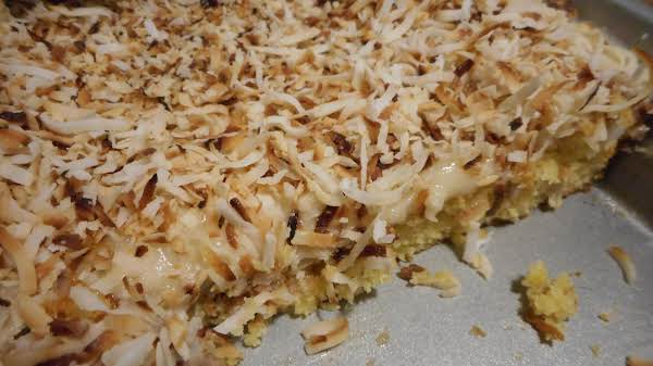 Toasted Coconut Lime Cake