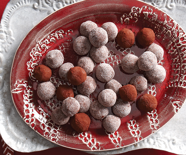 Chocolate-Chile Truffles Recipe | Yummly