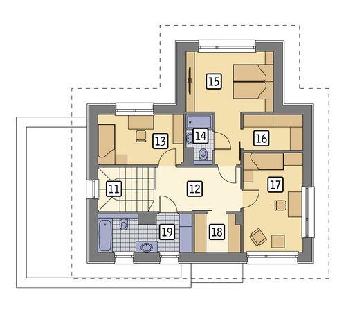Spokojna wyspa - M194 - Rzut piętra
