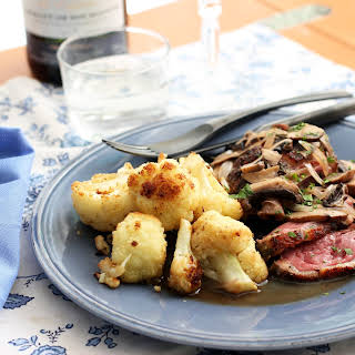 Herb de Provence Duck Breast with Mushrooms.