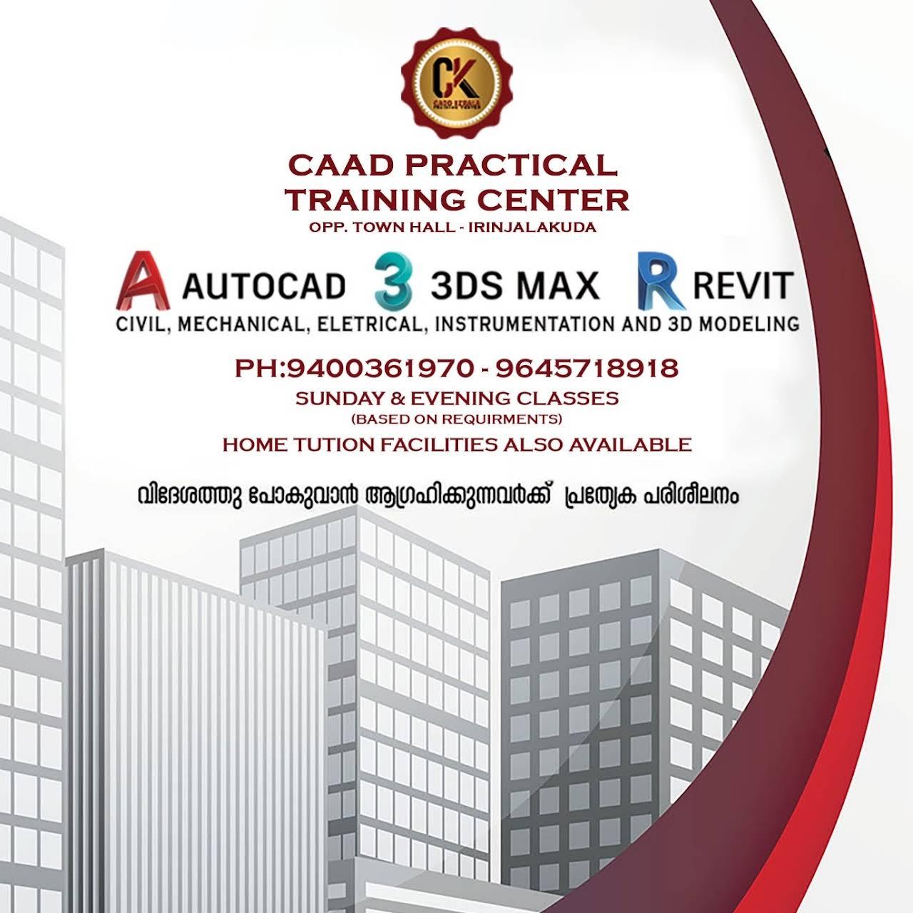 CADD KERALA CADD PRACTICAL TRAINING CENTER AUTOCAD-REVIT