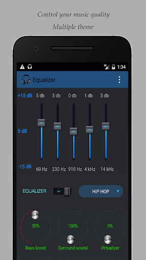 Equalizer for Samsung devices 2.9 screenshots 2