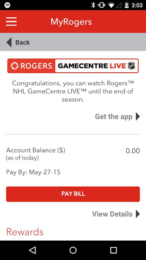 MyRogers - screenshot