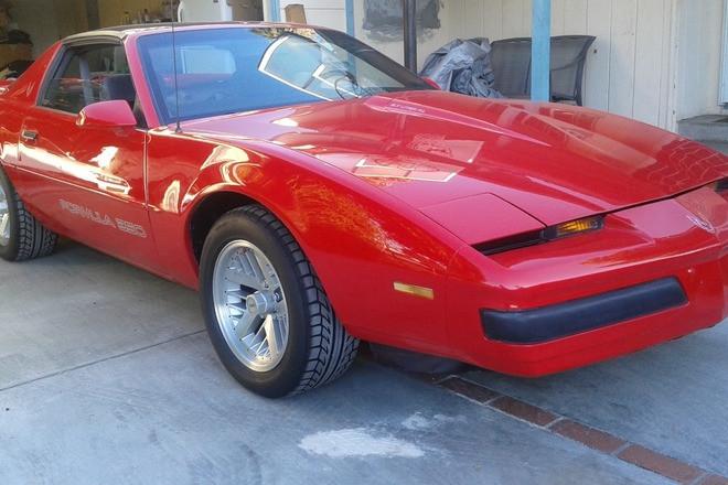 1989 Pontiac Firebird Formula 350 Hire CA