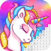 Pixel Art: Coloring Book Draw Doodle Arts Game icon