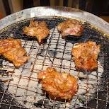 Wagyu beef in Nakano in Tokyo, Tokyo, Japan