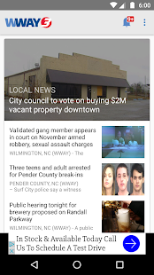 WWAY NEWS- screenshot thumbnail