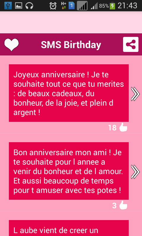 bon anniversaire translation english